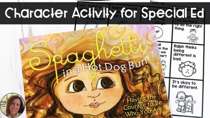 Courage Activity: Spaghetti in a Hot Dog Bun