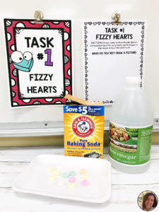 Fizzy Heart Task Station