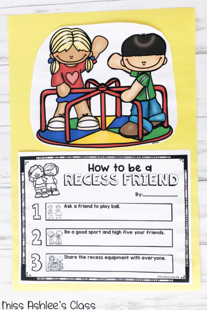 recess queen writing prompt