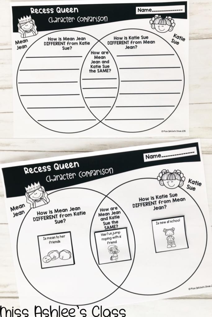 recess queen character comparison
