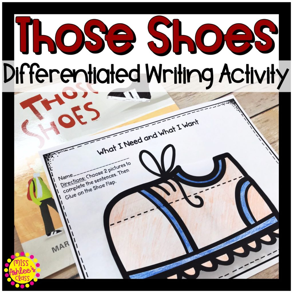 Those Shoes book companion