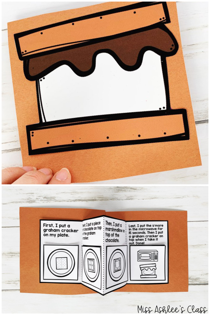 s'more sequencing book