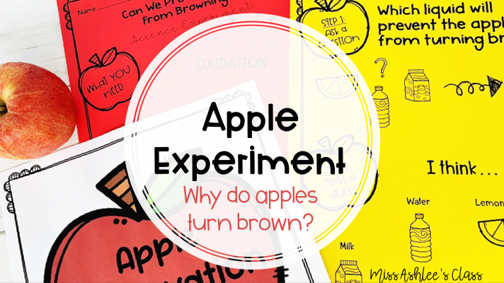 Apple Experiment: Why do apples turn brown?
