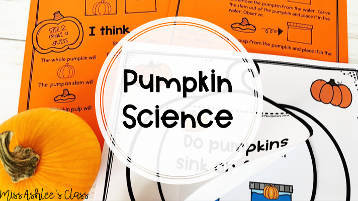 pumpkin experiment: sink or float