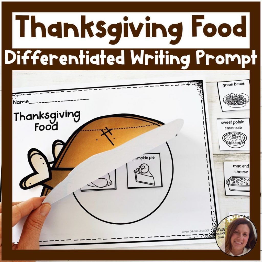 thanksgiving food writing prompt