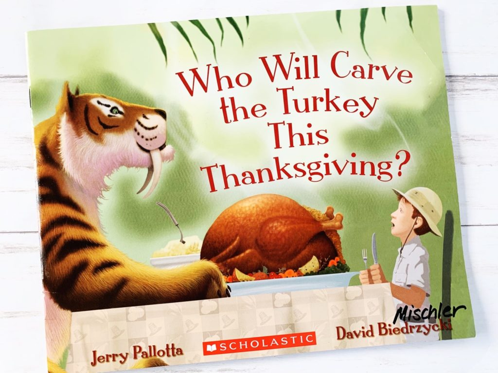 who will carve the turkey this thanksgiving book cover