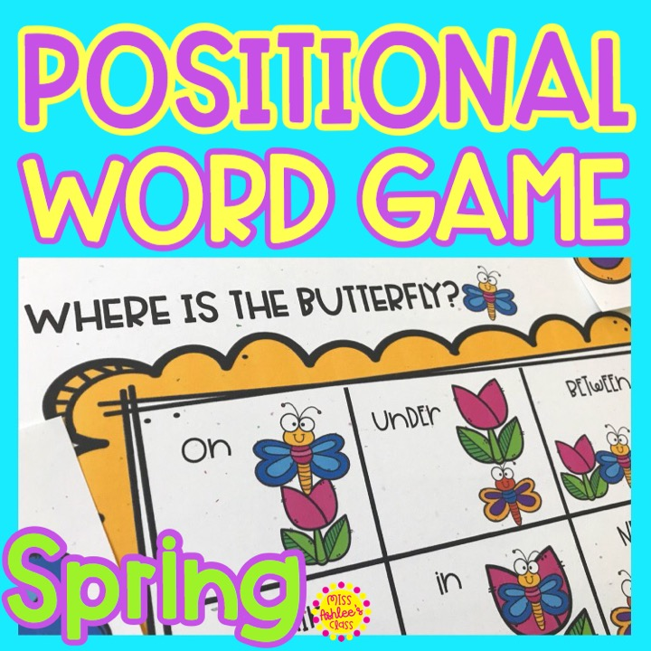 where is the butterfly positional word game