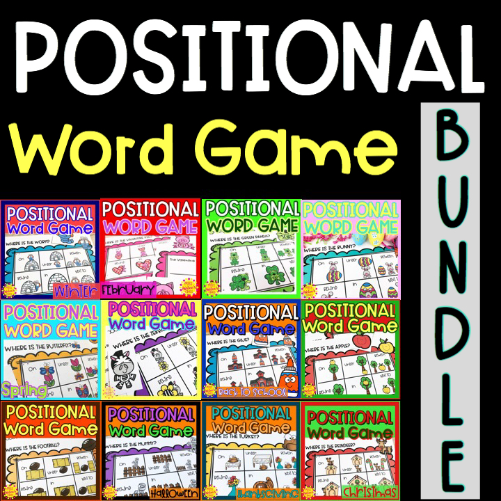 positional word game bundle