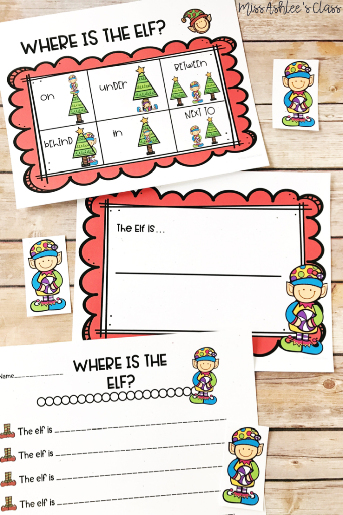 where is the elf positional word game