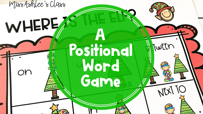 where is the elf A Positional word game