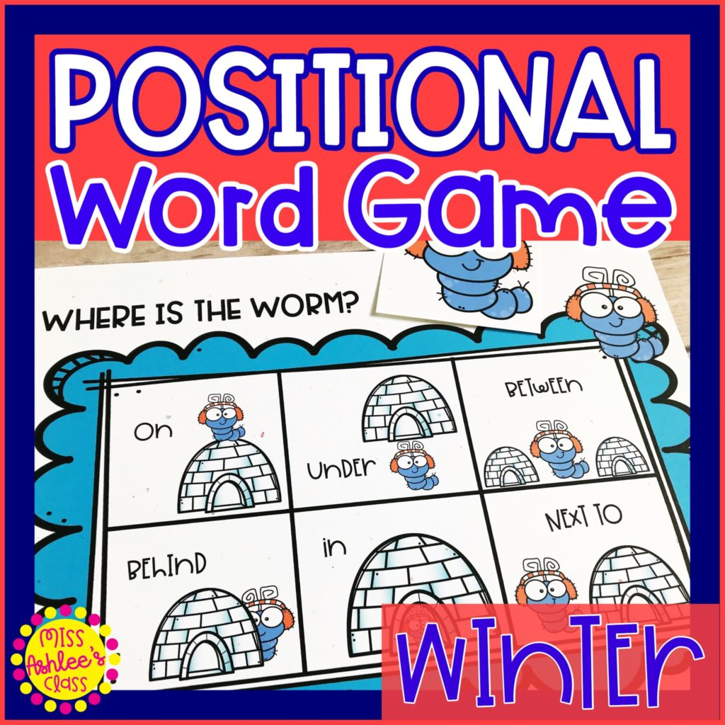 where is the winter worm positional word game