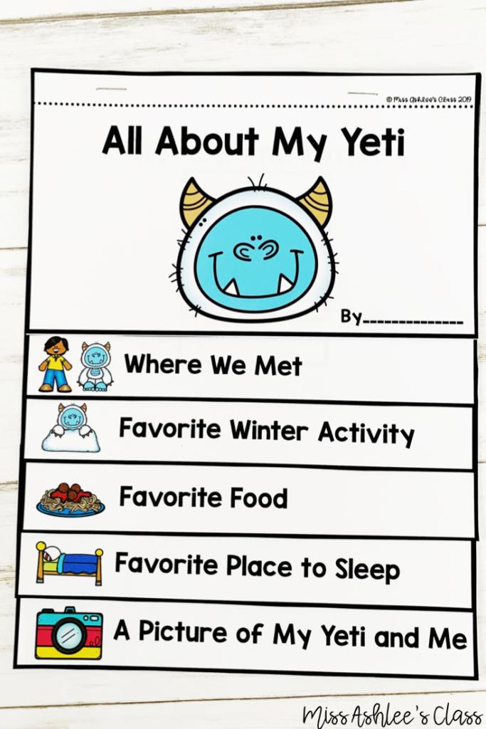 my yeti flip book