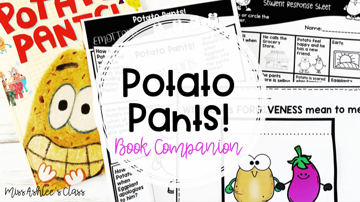 Potato Pants book companion