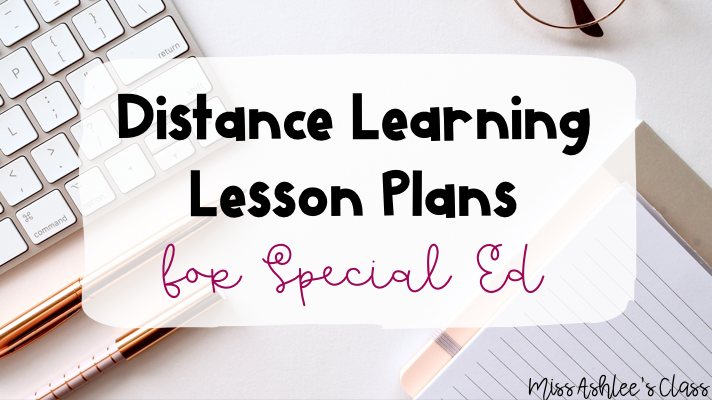 distance learning lesson plans