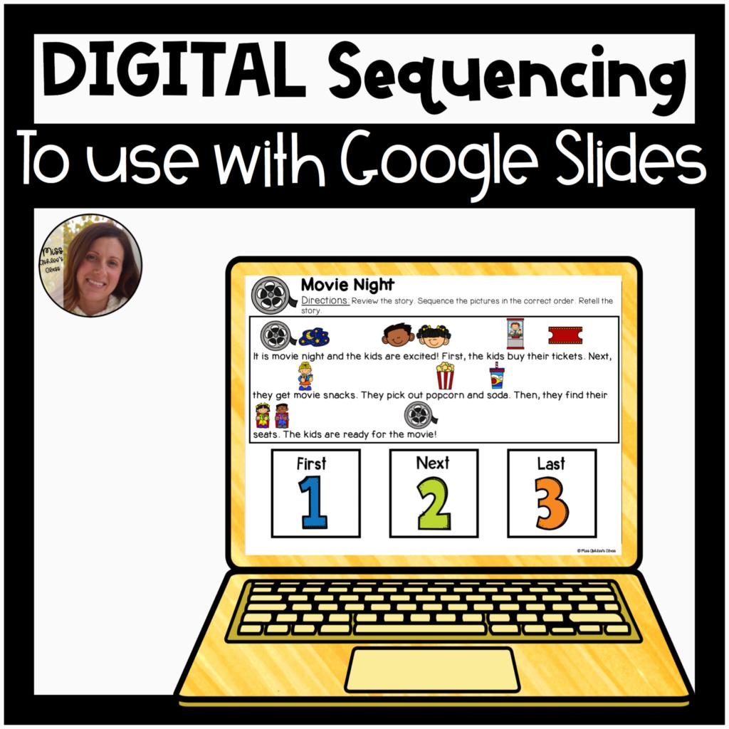 digital sequencing activity for google slides