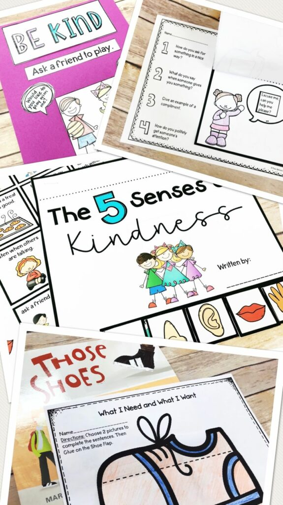 kindness bundle for special ed