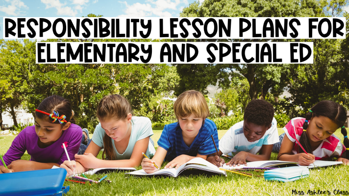 Responsibility Lesson Plans for Elementary