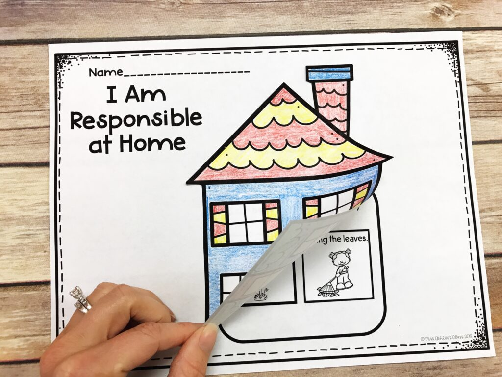 responsibility lesson at home