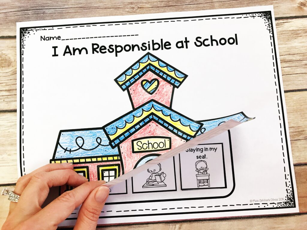 responsibility lesson at school