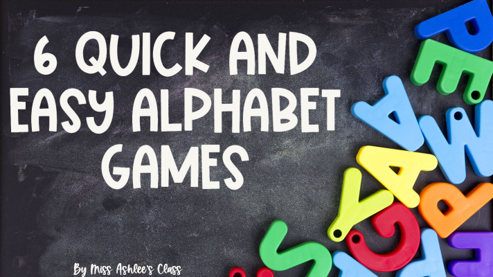 6 Quick and Easy Alphabet Games and Activities Using Alphabet Posters
